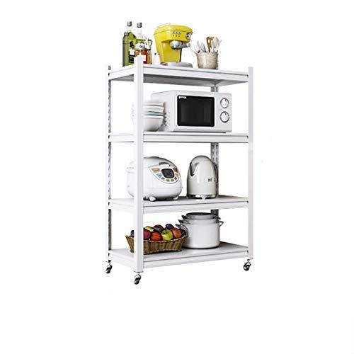 QAQA Kitchen Stand, Book Shelves, Shelving Units For Storage, Free Standing Kitchen Units (Size : 45.7 * 35 * 118cm)