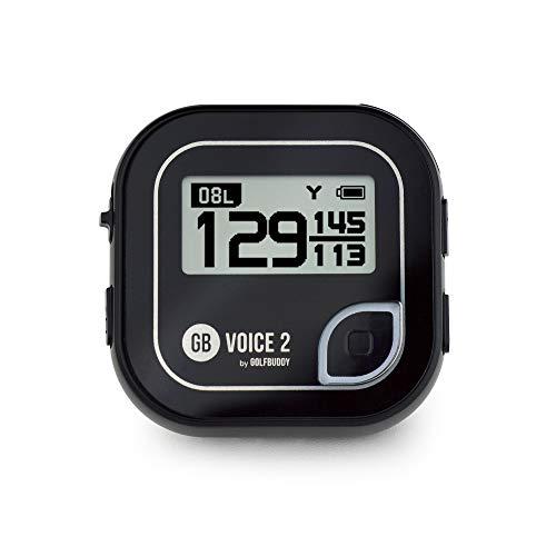 GolfBuddy VOICE2 Golf GPS, uniseks, zwart, eenheidsmaat