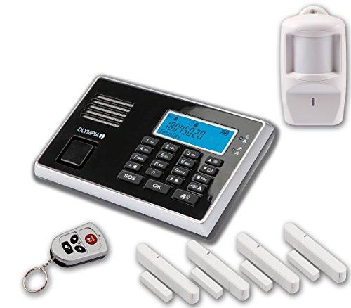 Olympia Premium Drahtloses GSM-Alarmanlagen-Set 9061
