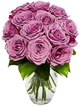 purple roses delivery