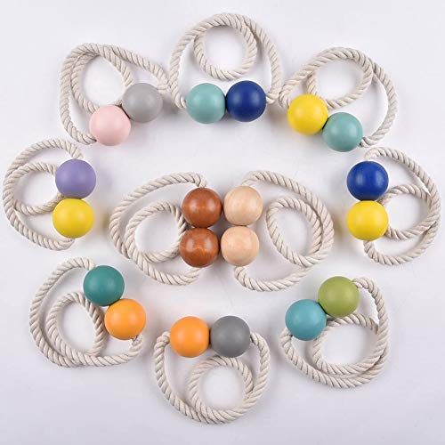 5 Sets Een Magnetische Bal Touw Vitrage Decoratief Gordijn Roze Grijze Cikou + Gratis Absorptie Van Het Doorprikken Van Gordijn Clip