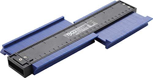 BGS 8025 | Konturenlehre | 250 mm | Messtiefe 30 mm | für Tischler, Modellbau, Karosserie