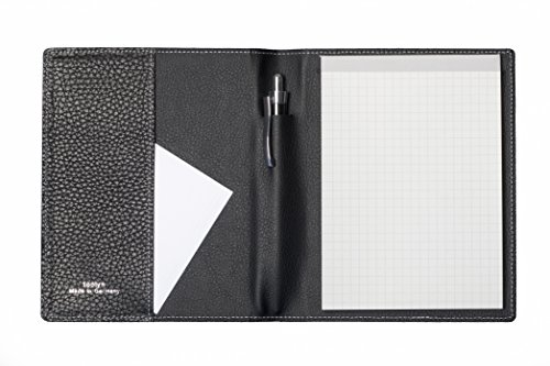 Tooly Nappa Leder Schreibmappe DIN A 6 Block
