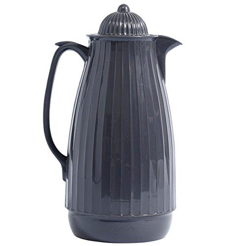 NORDAL · 7983 Isolierkanne Teekanne Kaffeekanne 1000ml 28cm · grau