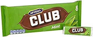 McVitie's Club Mint 8 x 22.5g - Pack of 2
