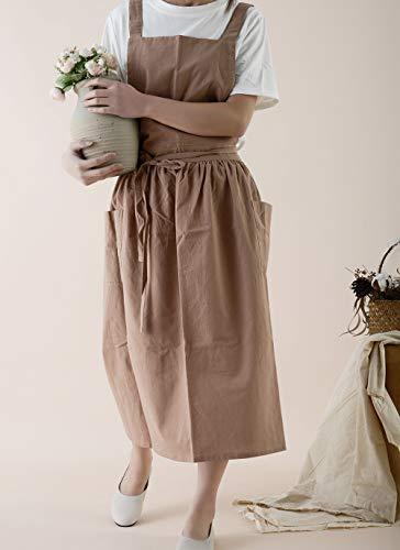 delantal lino de la marca FADUOFA