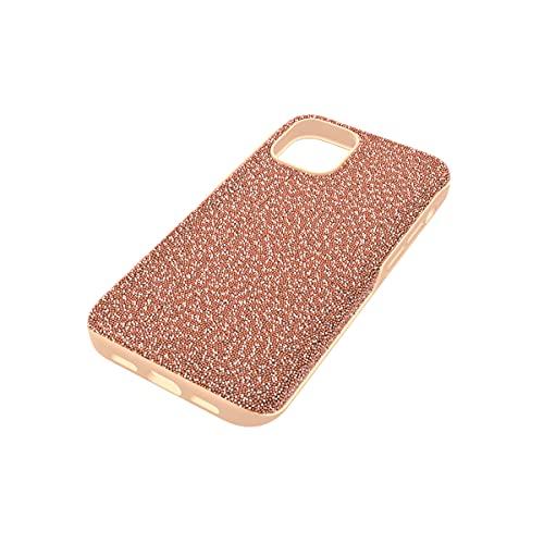 Swarovski Funda para smartphone High, iPhone 12 mini, Tono oro rosa
