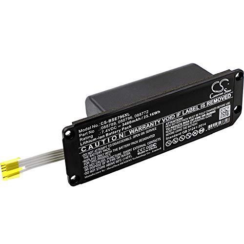 CS-BSE796XL Akku 3400mAh Kompatibel mit [Bose] Soundlink Mini 2 Ersetzt 088772, für 088789, für 088796