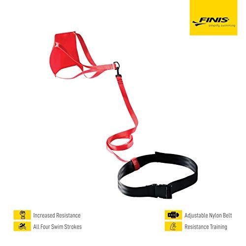 FINIS Training Equiptment Swim Parachute, red, 8 Inch