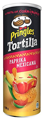 Pringles Tortilla Paprika Mexicana Chips   Einzelpackung   180g