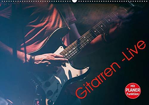 Gitarren - Live (Wandkalender 2020 DIN A2 quer): Gitarren - Live fotografiert, im Vintage-Look bearbeitet. (Geburtstagskalender, 14 Seiten )