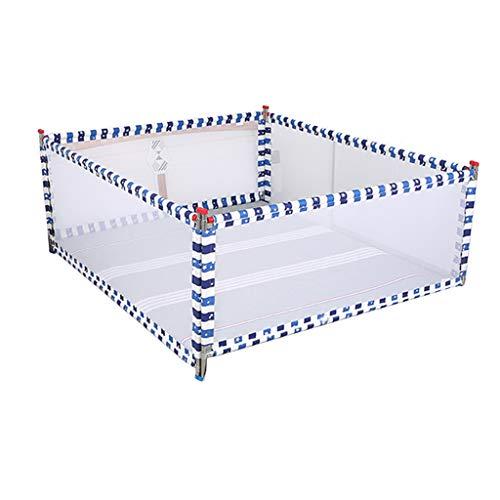HWZPPP KJZhu Baby-Schutzzaun, Schlafzimmer Anti-Fall-Multifunktionsbett-Wohnzimmer-Zaun-Innenaufstiegs-vertikales Aufzug-Bett-Geländer, 1.5-2M Faltbar (Farbe : A, größe : 150 * 200CM)