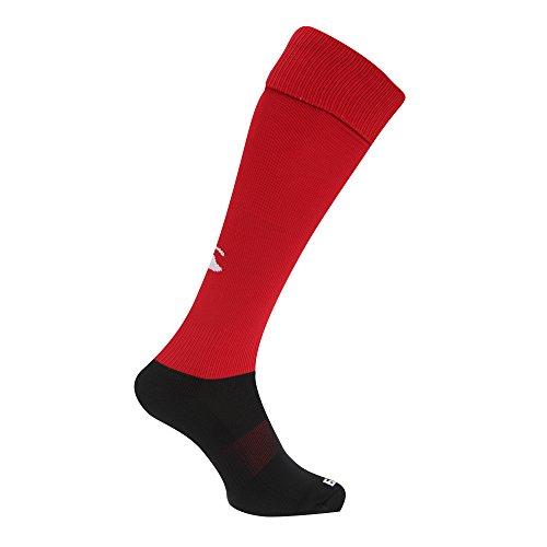 Canterbury Herren Rugby Sport-Socken (S) (Rot)