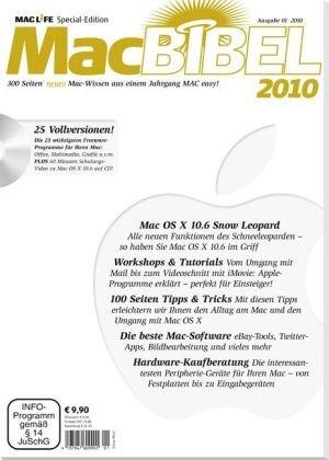 MacBIBEL 2010. 300 Seiten neues Mac-Wissen aus einem Jahrgang MAC easy! . 25 Vollversionen auf CD