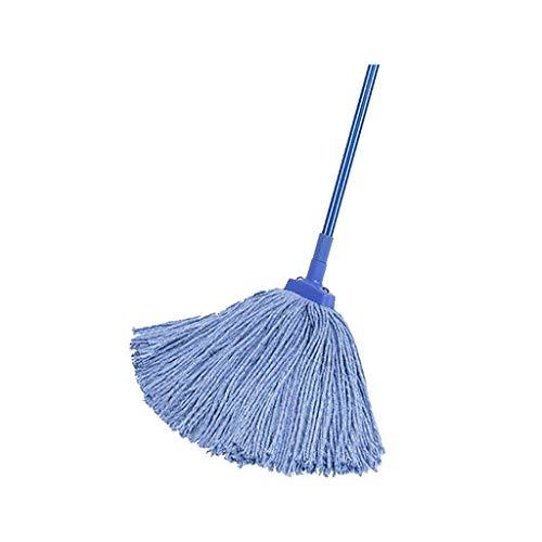 YIIY Trapeador de Microfibra, Productos de Limpieza for el hogar/Trapeador de Microfibra for el hogar de Moda de Acero Inoxidable (Color : Blue)