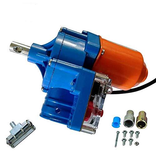 Sunbaca Motor de Invernadero Kits de Motor Enrollable de película Motor Enrollable...
