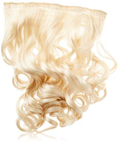 BiYa Hair Elements Thermatt 613 Extension capillaire à clipser Style bouclé Blond clair 50,8 cm 100 g