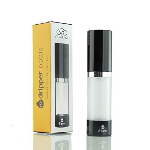 EZ Cloud Company EZ Dripper Flasche 15ml frosted - Liquid Flasche für E-Liquid - Tropfflasche, Dosierflasche
