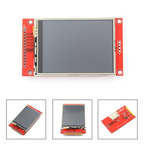 HiLetgo ILI9341 2.8' SPI TFT LCD Display Touch Panel 240X320 with PCB 5V/3.3V STM32