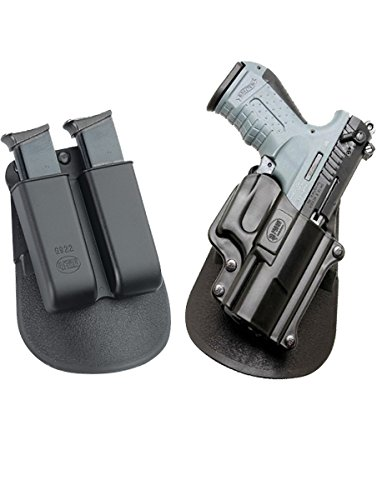 Fobus neu Pack WP-22 verdeckte Trage Pistolenhalfter Halfter Doppel-Magazintasche für Walther Walther P22 Pistole