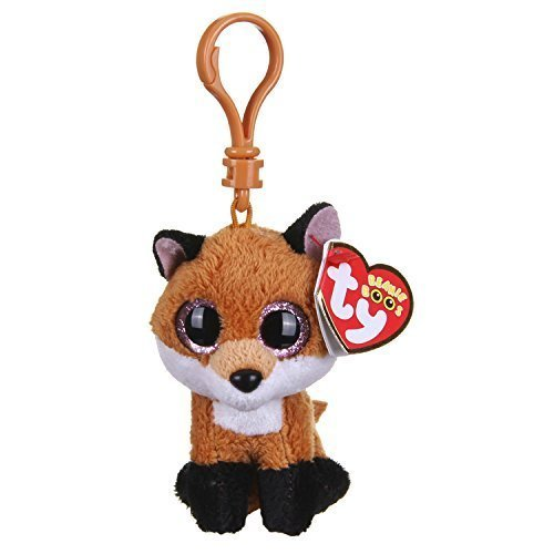 Ty - Ty36613 - Felpa - Clip de Beanie Boo - Slick Fox ,...