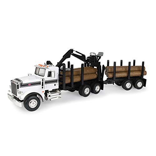 ERTL Big Farm Logging Truck with Pup...