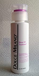 Dolce Milano Sheer Oil Treatment Hair and Scalp Treatments 4oz/118ml