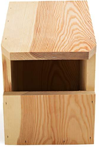 NEST TO NEST Bird Box | Open-fronted Bird House | Bird Nesting Box From Pine Wood | Bird House For Garden | Bird Nest, Premium Quality