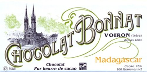 Madagascar 75% Kakao - Schokoladentafel - Bonnat