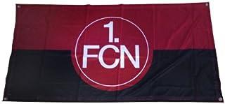 FBS 1. FC Nürnberg FCN Fahne Flagge 140cm x 70cm rot-schwarz