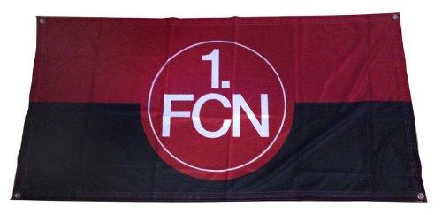 1. FC Nürnberg FCN Fahne Flagge 140cm x 70cm rot-schwarz