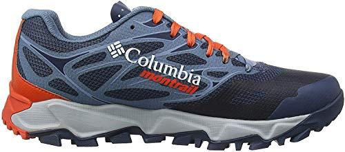 Columbia Trans Alps F.k.t. II, Zapatillas de Running para Asfalto para Hombre, Azul (Zinc, Red Quartz 492), 46 EU