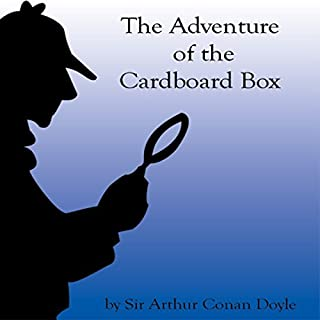 The Adventure of the Cardboard Box audiobook cover art