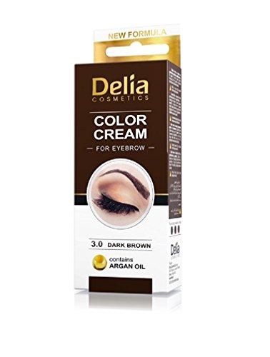 Delia Henna Creme Braun für Augenbrauen 30 ml