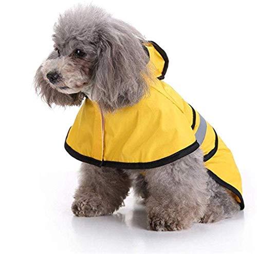 Hond Jas Reflecterende Hond Regenjas Warm Jas Hond Winter Kleding Poncho Verstelbare Regenpet Hond Regenjas Kleine Grote Honden Jassen Outdoor Indoor Activiteiten, XL