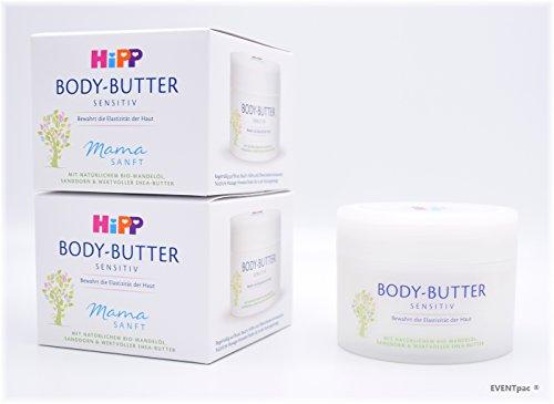 HiPP Mamasanft Body Butter, Paquet de 3 (3 x 200 ml)