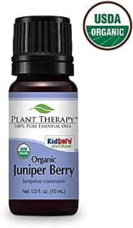 Plant Therapy Juniper Berry Organic Essential Oil 10 mL (1/3 oz)100% Pure, Undiluted, Therapeutic Grade
