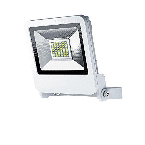 OSRAM - Projecteur Extérieur LED ENDURA FLOOD - Etanche IP65 - 30W - 2400 lumen - Orientable 180° - Blanc chaud 3000K - Blanc