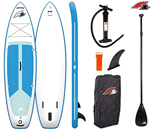 """F2 Strato 10'5"""" SUP Board Stand Up Paddle Surf-Board ISUP 320x83cm"""