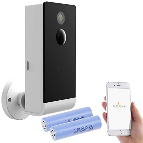 VisorTech Kameras: Full-HD-IP-Überwachungskamera mit Akku, Smarter Nachtsicht, WLAN & App (Überwachungskamera mit Akku)