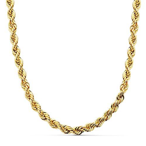 Cordón Salomónico Ligero Oro amarillo 18k 50cm 5,5mm
