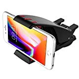 MoKo Universal Phone Car Mount - Hippo Mouth Style Windshield Dashboard Stand Holder for iPhone 8/8 Plus/7/7 Plus, iPhone X, Galaxy Note 8/S8/S8 Plus, Moto and GPS Devices Garmin, Tomtom, Black