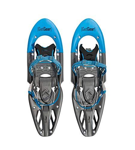 Get Gear - Raquetas de nieve, azul, large