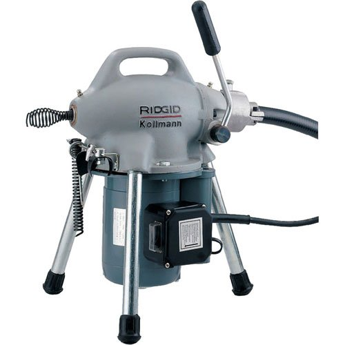 RIDGID 58920 K-50 Sectional Machine, Sectional Drain Cleaning Machine (Sectional Cable Sold Separately – Machine Only No Accessories)
