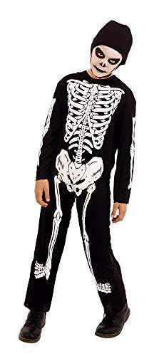 Rubies S8516 Haunted House - Disfraz Infantil Esqueleto, Talla M
