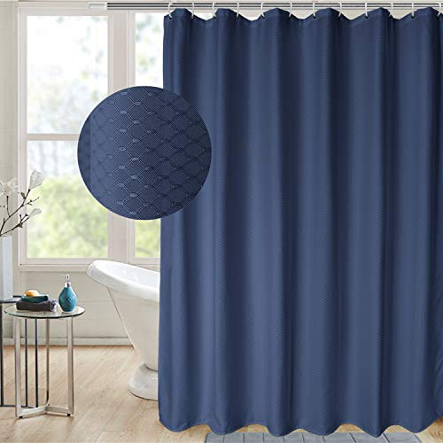 AooHome Extra Long 75 Inch Shower Curtain, Fabric Bathroom...