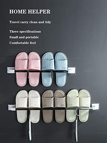 Clothes Zapatero estantes de Almacenamiento - Marco de Acero Inoxidable Mantiene 2-3 Pares de Zapatos / 3 tamaños Disponibles 19.69' -23.62' - 27.56' (Size : 27.56' in Length)