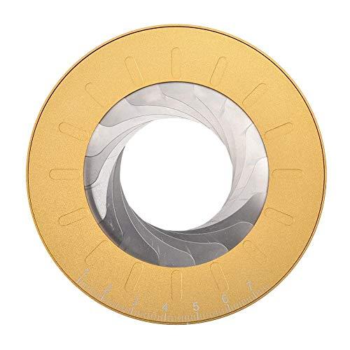 Kreismacher Kreisschablone Metall, Kreis Zeichnungen Werkzeug Verstellbar Schablone Zeichenschablone Lineare Geometrische Kreisschablone Für Designer Holzbearbeitung Enthusiasten