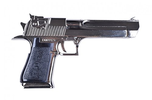 Denix Replik Pistole Desert Eagle,nickelfarben USA/Israel 1982