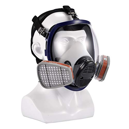Holulo Full Face Cover,Organic Vapors Panit Cover Face Protection